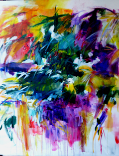 Abstract painting course