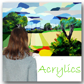 Acylic painting online
