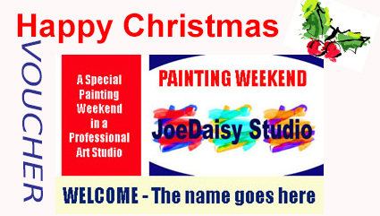 Happy Christmas from JoeDaisy Studio