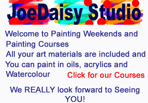 Painting weekends at JoeDaisy Studio