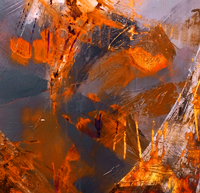 New abstract painting course for improvers
