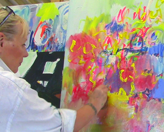 Special abstract painting courses
