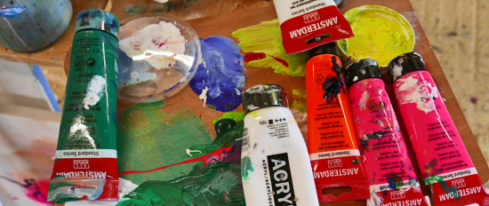 Painting courses, painting classes, painting weekends