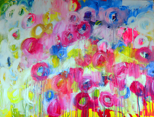 Caroline Hulse abstract painting