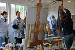 mid week painting workshops