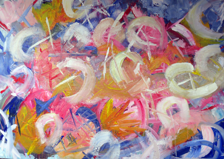 abstracts painting weekend february
