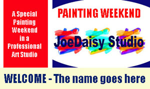 painting weekend voucher